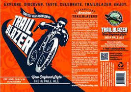 Connecticut Valley Trailblazer beer Label Full Size