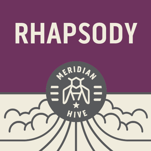Meridian Hive Rhapsody beer Label Full Size