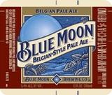 Blue Moon Belgian Pale Ale beer