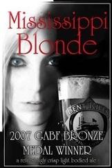 Bent River Mississippi Blonde beer Label Full Size