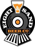 Eight & Sand Barleywine beer Label Full Size