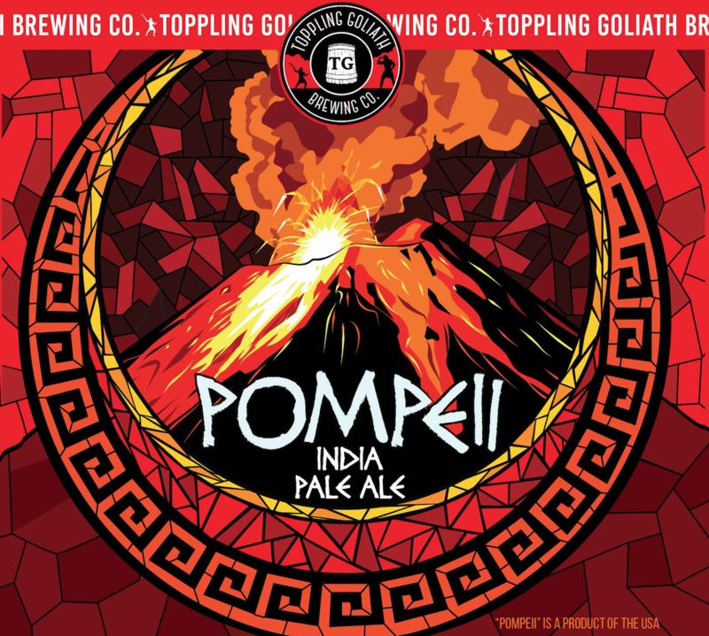 Toppling Goliath Pompeii beer Label Full Size