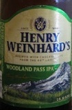 Henry Weinhard's Woodland Pass IPA beer