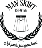 Man Skirt Craked The Code Saison Beer