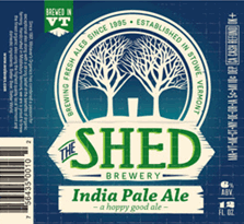 Shed IPA beer Label Full Size