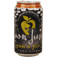 Loon Juice Grow A Pear beer Label Full Size