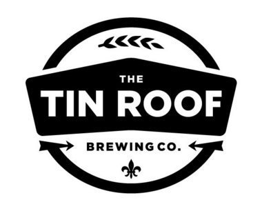 Tin Roof Parade Grounds Porter beer Label Full Size
