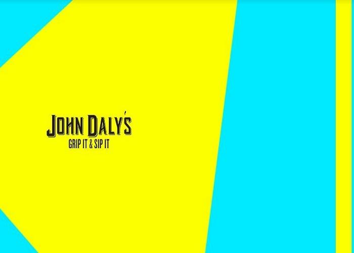 John Daly's Hard Tea beer Label Full Size