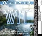Weyerbacher Wit Belgian Beer