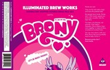 Illuminated Brew Works Brony beer