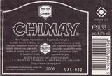 Chimay Gold beer