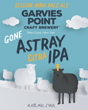 Garvies Point Gone Astray Citra beer