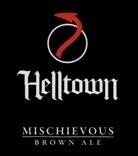 Helltown Mischievous Brown Ale beer Label Full Size
