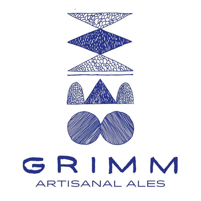 Grimm CAPSLOCK Pale Ale beer Label Full Size