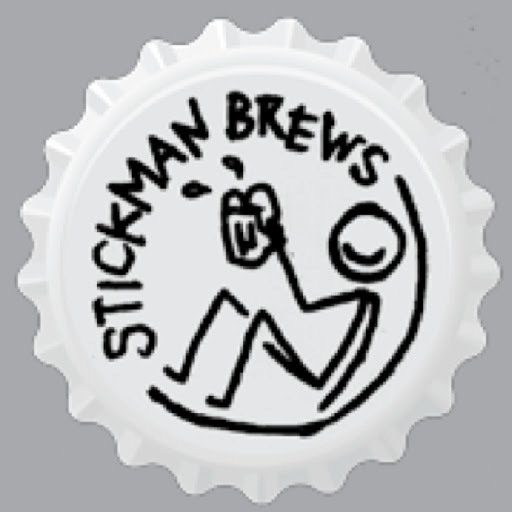 Stickman Baba's Got A Brand New Brew beer Label Full Size