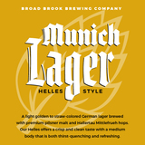 Broad Brook Munich Lager Beer