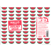 Mikkeller SD Hallo Ich Bin Berliner Weisse Watermelon beer Label Full Size