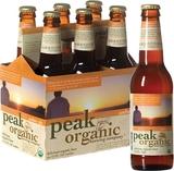 Peak Organic Amber Ale beer