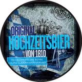 Hofstettner Hochzeitsbier von 1810 Marzen beer