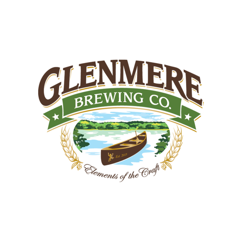 Glenmere Wild Thyme Farmhouse beer Label Full Size