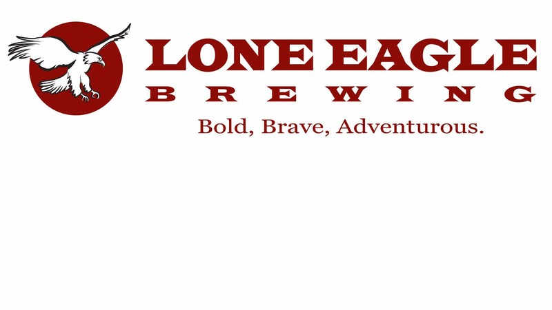 Lone Eagle PBA 188 beer Label Full Size