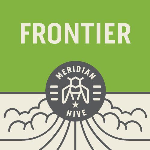 Meridian Hive Frontier beer Label Full Size