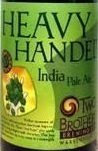 Two Brothers Heavy Handed IPA 2 with Centennial Hops beer