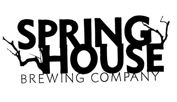 Spring House Braaaiins! Pumpkin Ale for Zombies beer Label Full Size