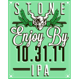 Stone Enjoy By 10.31.17 Beer