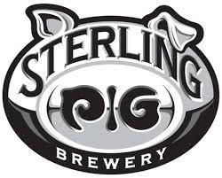 Sterling Pig Saison du Cerf beer Label Full Size