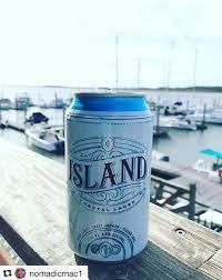 East Island Coastal Lager beer Label Full Size