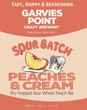 Garvies Point Sour Batch Peaches & Cream beer
