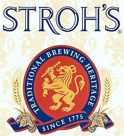 Stroh's American Lager Beer