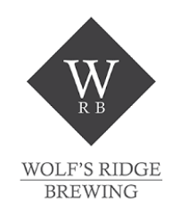 Wolf's Ridge Terre du Sauvage Blue beer Label Full Size