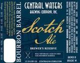 Central Waters Bourbon Barrel Scotch Ale (2015) beer
