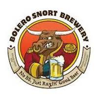 Bolero Snort Cinnabull beer Label Full Size