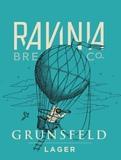 Ravinia Grunsfeld Lager beer