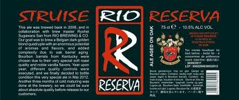 De Struise Rio Reserva beer Label Full Size