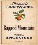 Albemarle Ciderworks Ragged Mountain beer