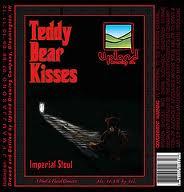 Upland Teddy Bear Kisses beer Label Full Size