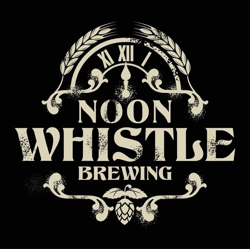Noon Whistle Hop Prism Blue beer Label Full Size