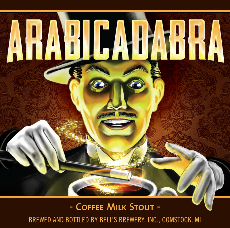 Bell's Arabicadabra beer Label Full Size