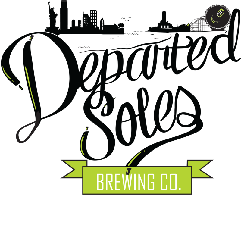 Departed Soles Ghost of Pumpkins Passed(Gluten Free) beer Label Full Size