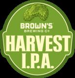 Brown's Harvest IPA beer