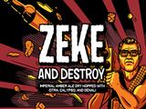 Neshaminy Creek Zeke and Destroy Beer