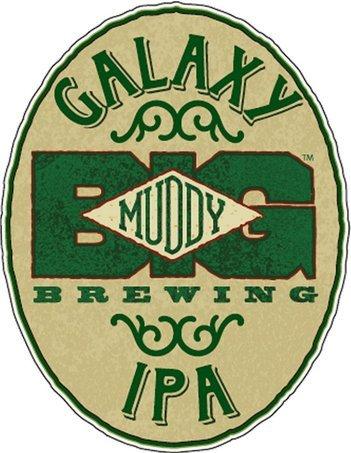 Big Muddy Galaxy IPA beer Label Full Size