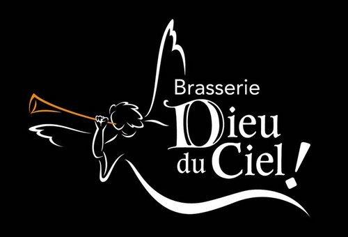 Brasserie Dieu Du Ceil The Grande Noirceur beer Label Full Size