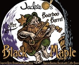 Jackie O's Coffee Bourbon Barrel Black Maple beer
