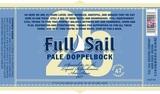 Full Sail 25 Pale Doppelbock beer