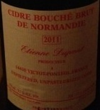 Etienne Dupont Cidre Bouche Brut de Normandie 2011 beer